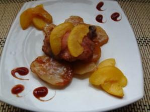 Курица с абрикосами в духовке - фото шаг 4