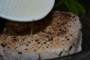 Котлета на кости с чесночным картофелем  - фото шаг 5