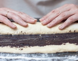 Творожный пирог из дрожжевого теста - фото шаг 8