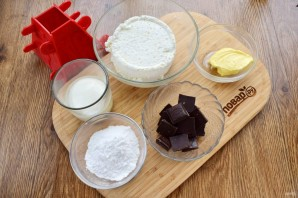 Пасха с темным шоколадом - фото шаг 1