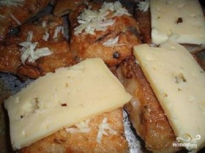 Жареная рыба с чесноком и сыром - фото шаг 2