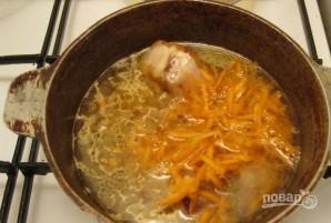 Немецкий суп айнтопф - фото шаг 5
