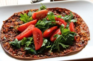 Турецкая пицца - фото шаг 4