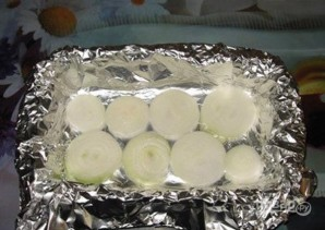 Куриная голень с картошкой в духовке - фото шаг 1