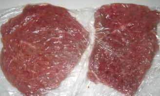 Отбивные из телятины на сковороде - фото шаг 1