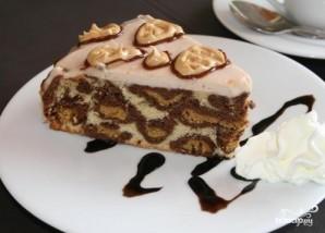 """Торт """"Леопардовый"""" - фото шаг 9"""