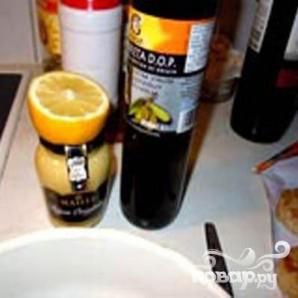 Стейки из семги, маринованные в дижонской горчице с зеленым салатом - фото шаг 2