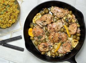 Курица с лимоном и оливками - фото шаг 6