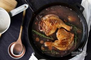 Утиные ножки на сковороде - фото шаг 4