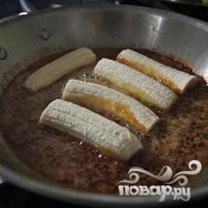 Пирог с карамелизованными бананами - фото шаг 3