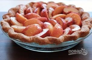Пирог с нектарином - фото шаг 5