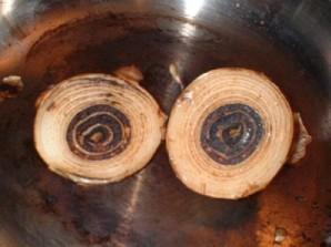 Весенний бульон с грибами - фото шаг 7