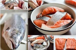 Рыбный суп с семгой - фото шаг 1