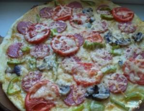 Пицца на дрожжевом тесте - фото шаг 6