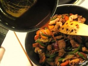 Курица по-китайски в кисло-сладком соусе - фото шаг 11