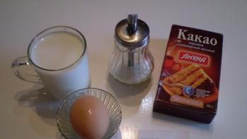 Мороженое с какао - фото шаг 1