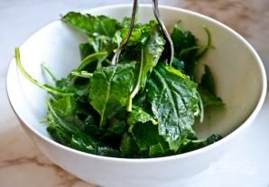 Салат с запеченным нутом - фото шаг 4