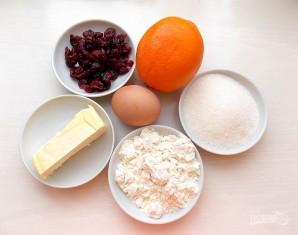 Клюквенно-апельсиновое печенье - фото шаг 1