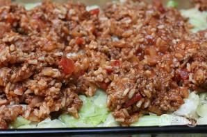 Запеканка из риса, капусты и фарша - фото шаг 6