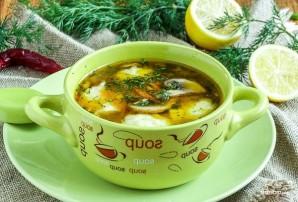 Гречневый суп с картофельными клецками - фото шаг 8