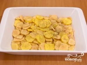 Картофель, запеченный с сыром - фото шаг 3