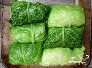 Голубцы с пекинской капустой для лентяев  - фото шаг 4