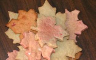 Домашнее печенье в форме кленовых листьев - фото шаг 4