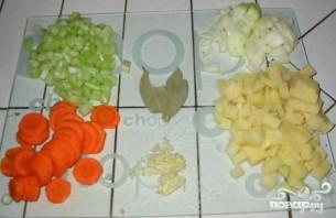 Чечевичный суп - фото шаг 1