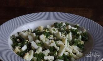Пирожки с яйцом и зеленым луком - фото шаг 2