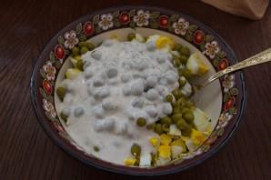 Салат с печенью и сыром - фото шаг 4