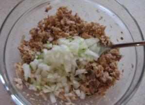 Тарталетки с горбушей консервированной - фото шаг 6