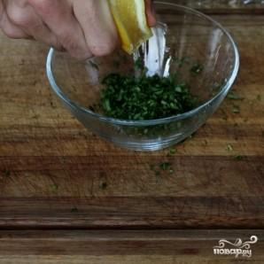 Креветки со спаржей - фото шаг 2