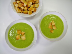 Суп из замороженного горошка - фото шаг 6