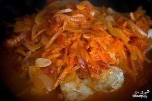 Рыба с овощами под маринадом - фото шаг 7