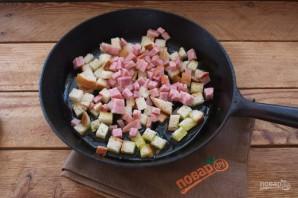 Чудесная закуска из жареного хлеба и яйца - фото шаг 6