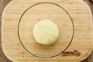 "Пирожки с сыром и зеленью ""Лодочки"" - фото шаг 2"