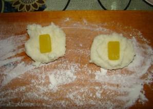 Манник на сковороде - фото шаг 3