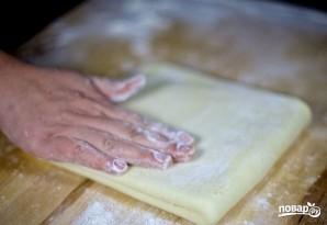 Слоеное тесто на самсу - фото шаг 12