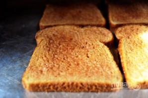 Вкусные гренки из белого хлеба - фото шаг 5