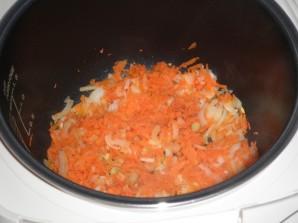 Печень с овощами в мультиварке - фото шаг 2