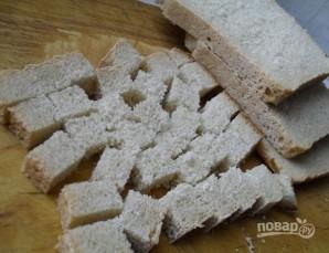 Салат с сухариками и кукурузой - фото шаг 1