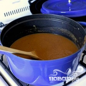 Суп с запеченными баклажанами и помидорами - фото шаг 4