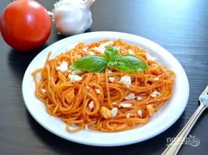 Спагетти с томатной пастой - фото шаг 7