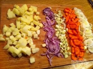 Суп из филе семги - фото шаг 2
