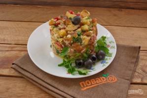 Чудесная закуска из жареного хлеба и яйца - фото шаг 11