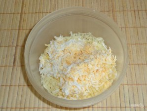 Закусочные сырные шарики с горчицей - фото шаг 3