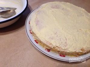 Торт домашний простой - фото шаг 12