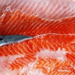 Соленая красная рыба - фото шаг 6