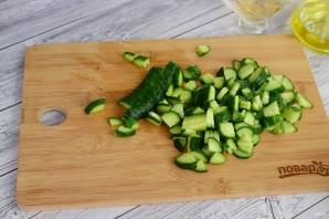 Витаминный салат из свежих овощей - фото шаг 3