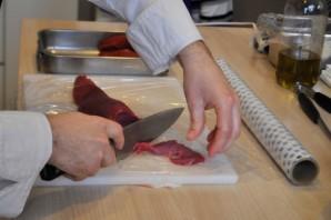 Карпаччо из мраморной говядины - фото шаг 2